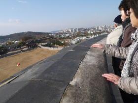 華城からの眺め