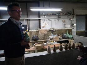 韓国陶窯の工房、窯元見学
