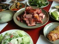 韓国旅行 広州の鴨料理