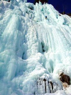 九曲滝をあきらめ、江原道の堂山へ