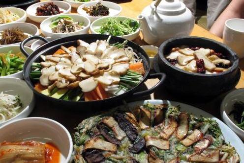 栄養価も高い松茸料理
