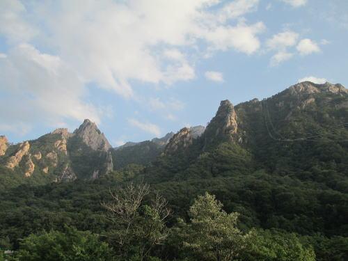雪岳山国立公園 小公園