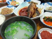 釜山おすすめグルメ シジミ汁定食