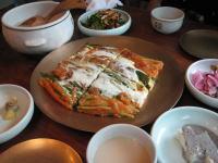 釜山 東菜ハルメパジョン