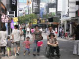 車椅子で家族旅行