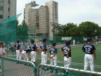 少年野球でスポーツ交流