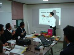 企業視察 韓国IT出版社のプレゼン