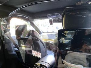タクシーの感染予防対策