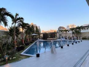 沖縄逸の彩屋外プール