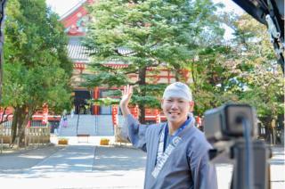 オンライン人力車三浦翔平さん