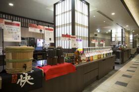 大阪逸の彩ホテル・ドリンクコーナー