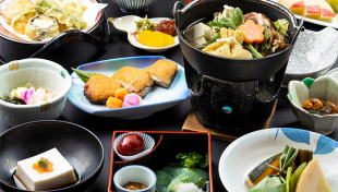 赤松院の精進料理