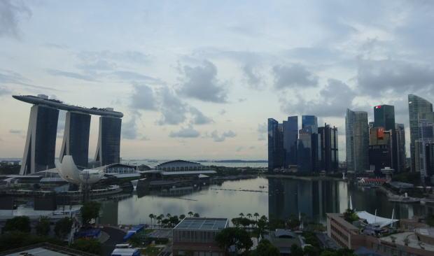 シンガポール市のマリーナ地区