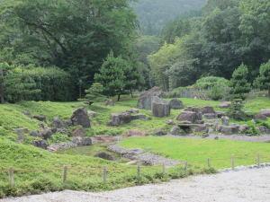 旧金石城跡庭園