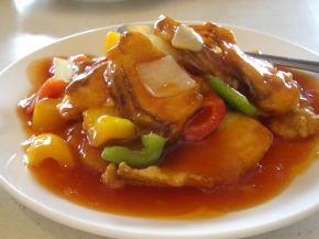 桂花庁の四川料理