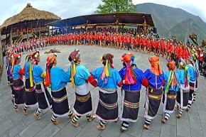 阿里山近辺の原住民ツォウ族
