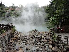 台湾旅行 温泉