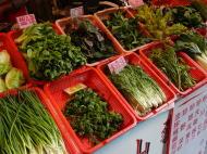 烏来の地元の野菜