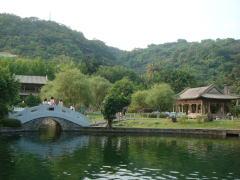 台湾の回遊式庭園「至善園」