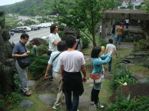 台湾社員旅行 現地視察