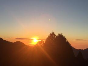 阿里山 夕陽