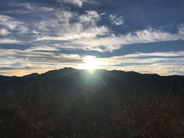 阿里山 日の出
