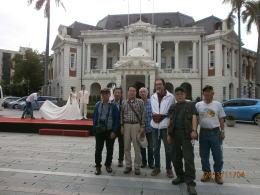台湾縦断 台中市庁舎前