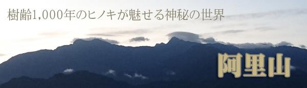 台湾旅行おすすめ 阿里山