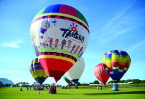 台湾・台東の熱気球