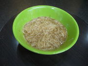 阿宗麺線の大腸麺線