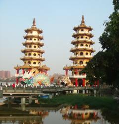 台湾旅行高雄 蓮池潭