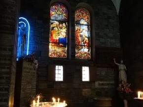 サイゴン大聖堂ステンドグラス