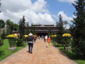 ティエンムー寺 庭園