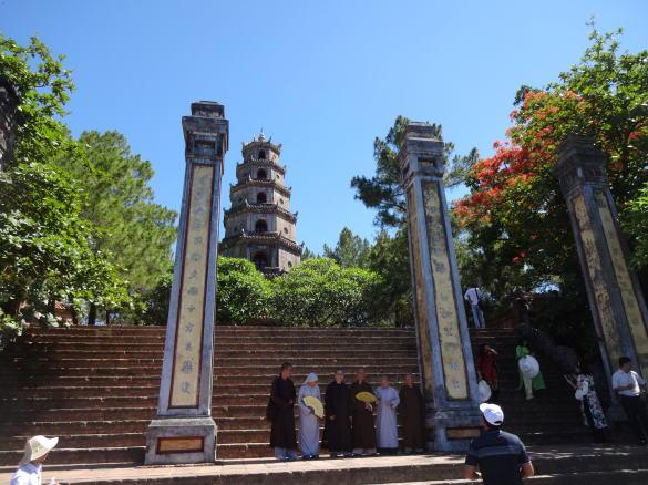 フエの古寺 ティエンムー寺