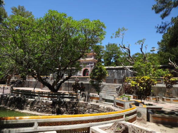 フエのトゥドゥック帝陵