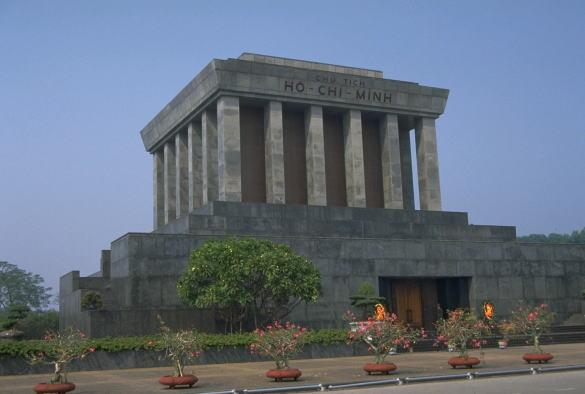 ハノイ市ホーチミン廟