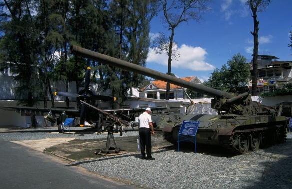 ホーチミン市 戦争証跡博物館