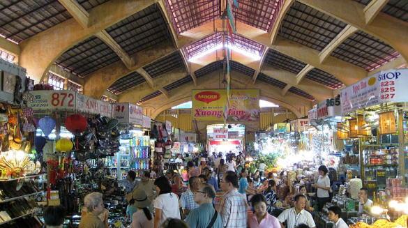 ホーチミン市 ベンタイン市場